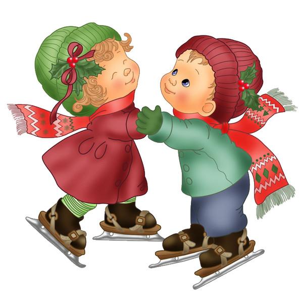 Зимние праздники раскраска